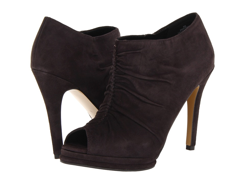 Nine West - Sybryl (Dark Grey Suede) Women