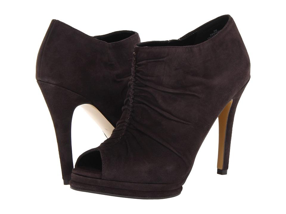 Nine West - Sybryl (Dark Grey Suede) Women's Zip Boots