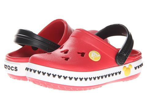 Crocs Kids - Crocs Kids - Crocband Mickey Clog 3 (Toddler/Little Kid) (Red/Black) Kid