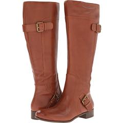 Nine West Sookie Wide Calf (Natural Leather) Footwear