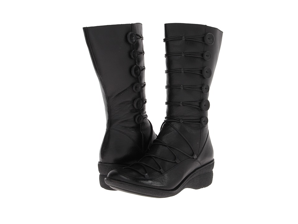 Miz Mooz - Owen (Black) Women's Lace-up Boots