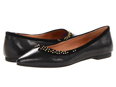 Miz Mooz - Whitney (Black) Women's Dress Flat Shoes