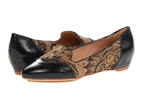 Miz Mooz - Paloma (Black) Women's Flat Shoes