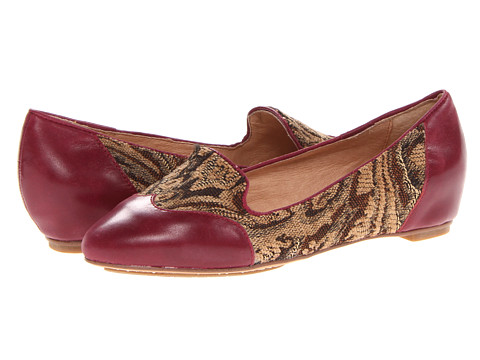 Miz Mooz - Paloma (Plum) Women's Flat Shoes