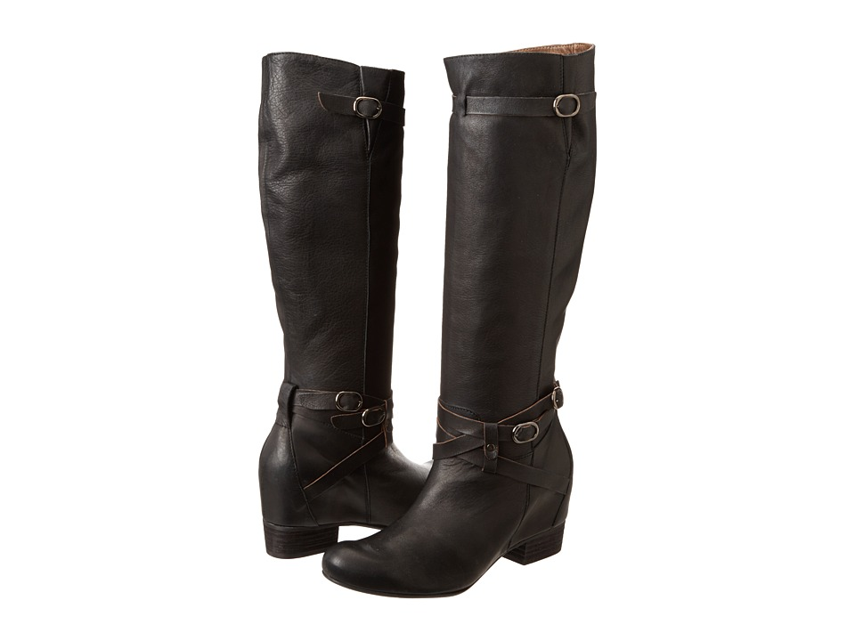 Miz Mooz - Femme (Black) Women's Zip Boots
