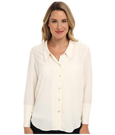 NIC+ZOE - Modern Blouse (Bone 3) Women
