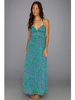 SALE! $69.99 - Save $56 on Tommy Bahama Ocean Swirl Long Maxi Dress Cover Up (Parakeet Green Surf Blue) Apparel - 44.45% OFF $126.00