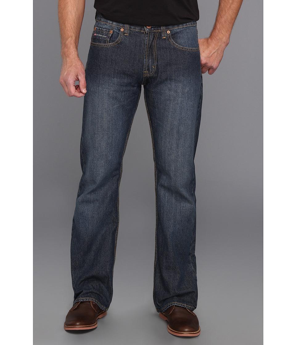 U.S. POLO ASSN. - Boot Cut Jean (Blue) Men's Jeans