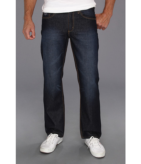 U.S. POLO ASSN. - Slim Straight Jean with Small Pony on Back Pocket (Blue) Men's Jeans