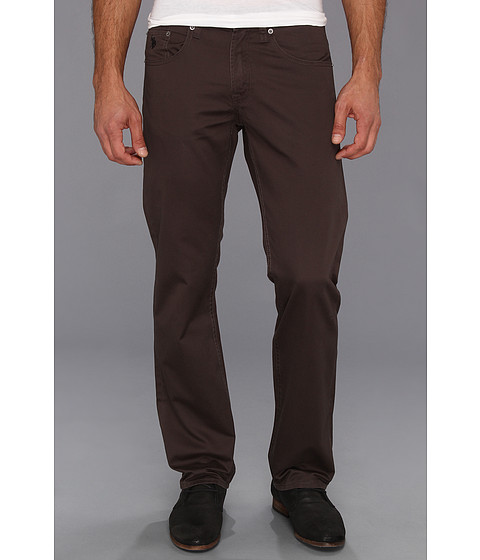 U.S. POLO ASSN. - Slim Straight 5-Pocket Twill Pant (Dark Graphite) Men's Casual Pants