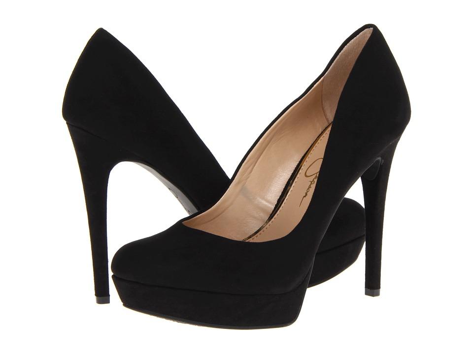 Jessica Simpson Baleenda (Black Microsuede) High Heels