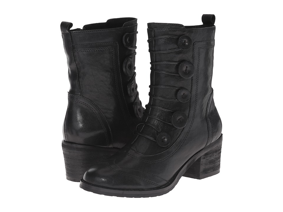 Miz Mooz - Megan (Black) Women's Zip Boots