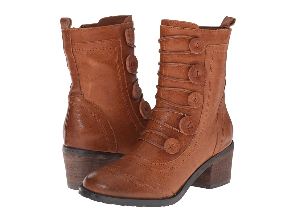 Miz Mooz - Megan (Whiskey) Women's Zip Boots