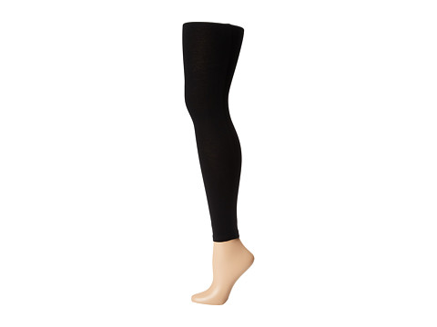 Anne Klein - Heavy Weight Cut+Sew Legging (Black) Hose