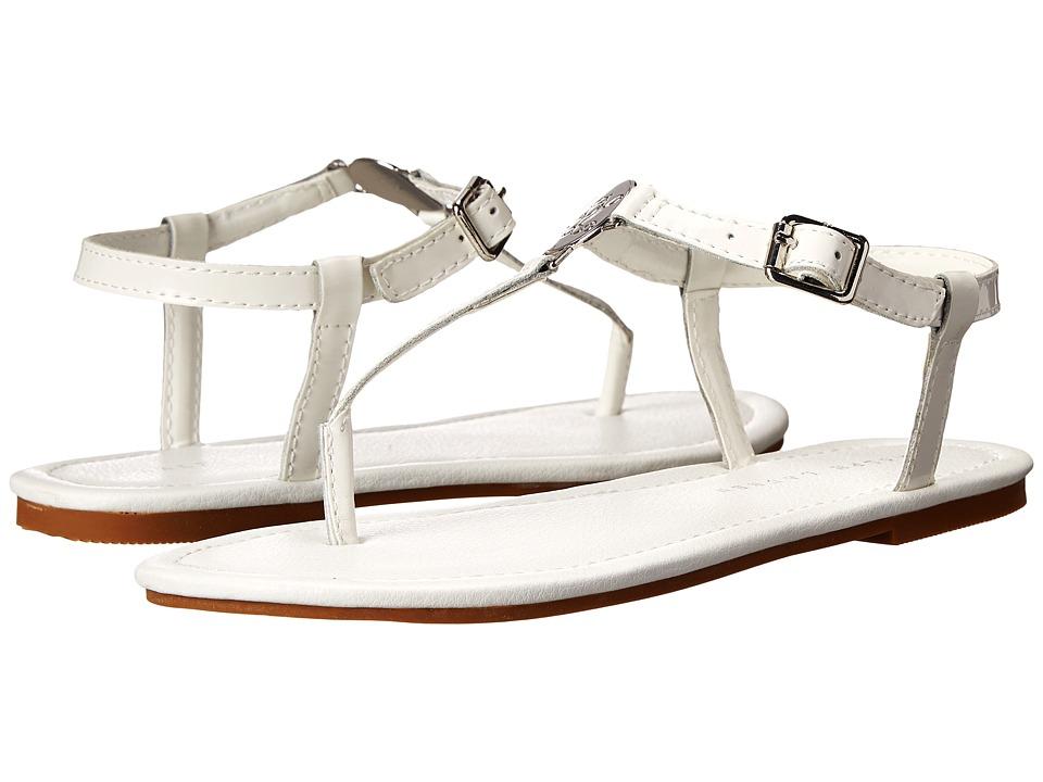 Polo Ralph Lauren Kids - Sueanne (Little Kid/Big Kid) (White Patent) Girls Shoes