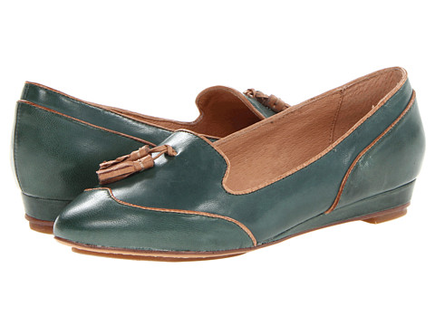 Miz Mooz - Proust (Forest) Women's Flat Shoes