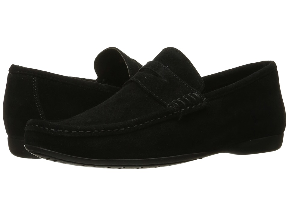 Bruno Magli - Partie (Black) Men's Slip-on Dress Shoes