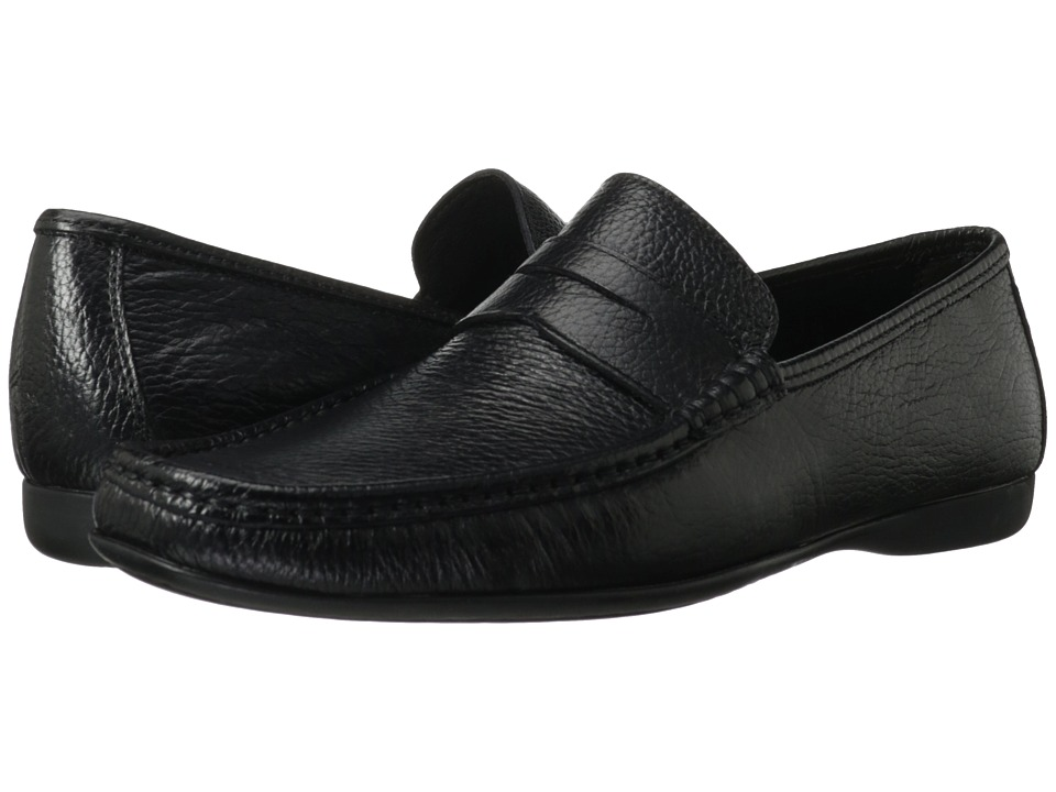 Bruno Magli - Partie 2 (Black) Men's Slip-on Dress Shoes
