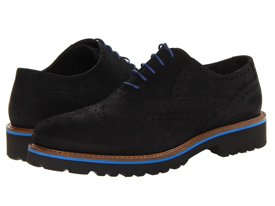 BRUNO MAGLI - Malachi (Black/Blue) Men's Shoes