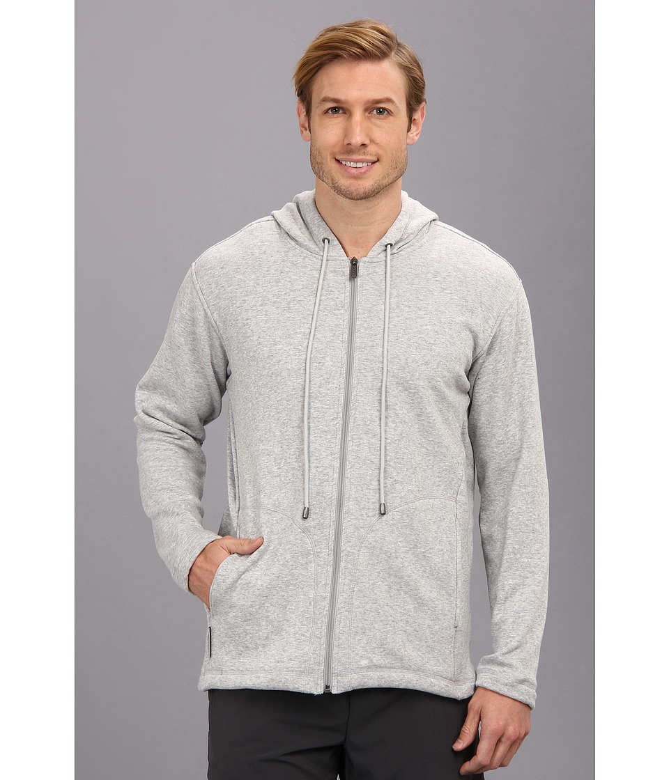 UGG - Connely Hoodie (Seal Heather) Men's Sweatshirt