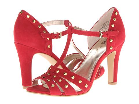 Anne Klein Parvani (Red Suede) High Heels