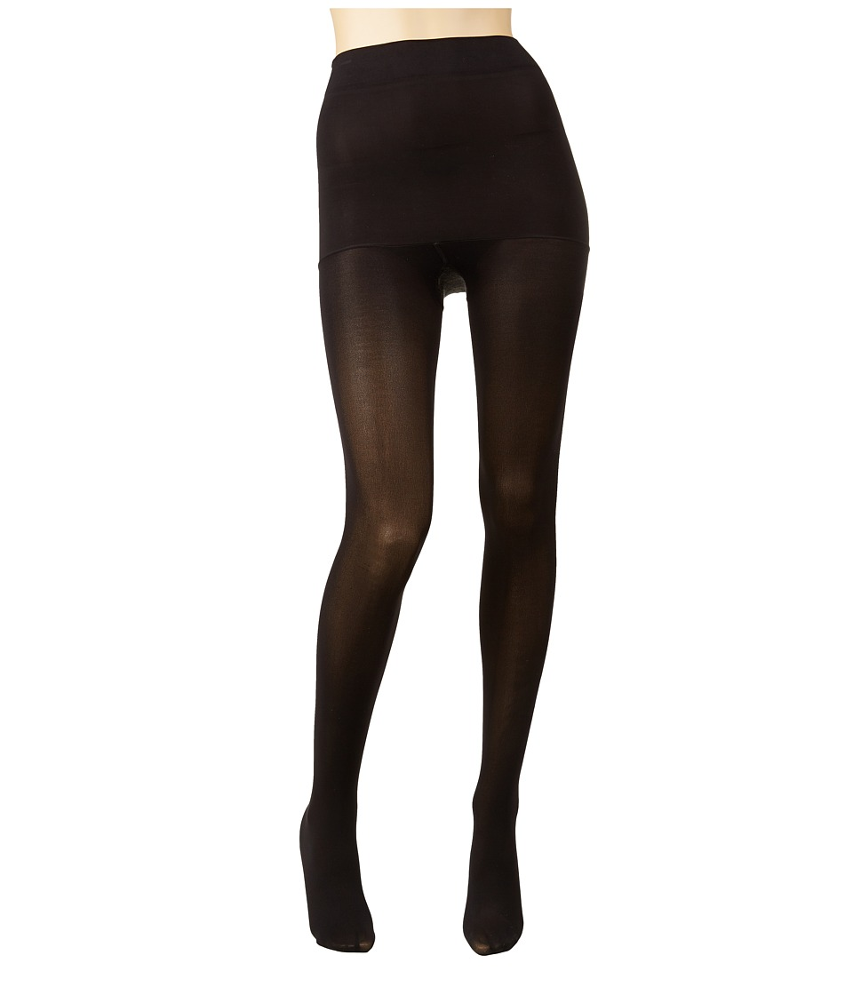 Spanx - Haute Contour High-Waisted Tights (Black) Hose