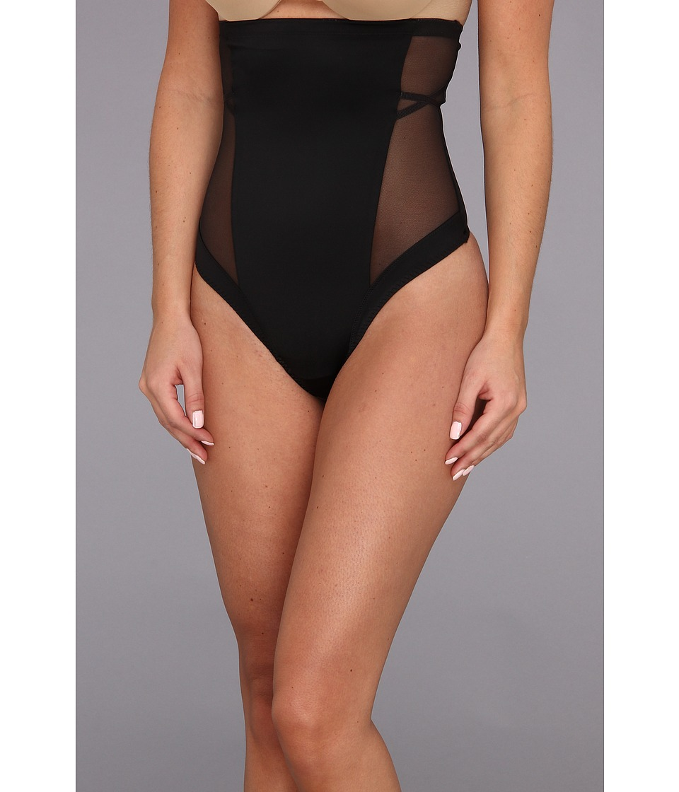 Spanx - Oh My Posh! High-Waisted Thong (Black) Women