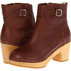 Steve Madden Olaaf (Brown Leather) Footwear