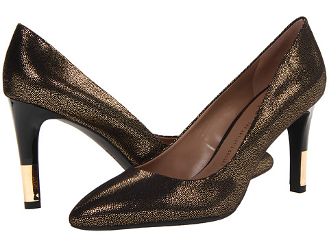 Franco Sarto - Mandolin (Gold Fabric) High Heels