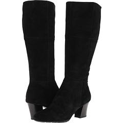 Franco Sarto Miles (Black Suede) Footwear