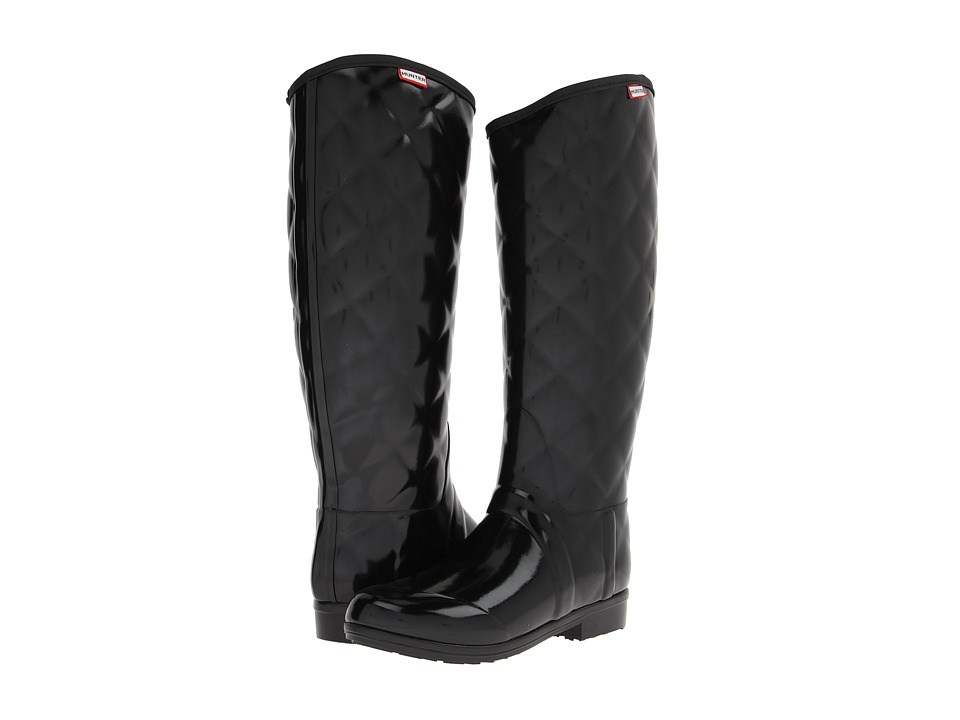 Hunter - Sandhurst Savoy (Black) Women's Rain Boots