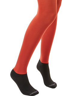 SALE! $14.99 - Save $17 on BOOTIGHTS Core Semi Opaque Tight Ankle Sock (Burnt) Hosiery - 53.16% OFF $32.00