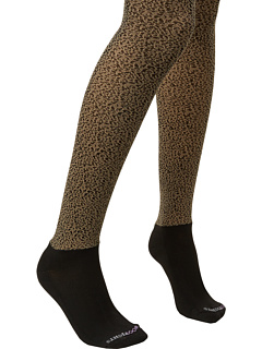 SALE! $14.99 - Save $21 on BOOTIGHTS Untamed Micro Cheetah Tight Ankle Sock (Sand) Hosiery - 58.36% OFF $36.00