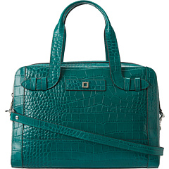 SALE! $196.99 - Save $131 on Lodis Accessories Century Blvd Camille Satchel (Teal) Bags and Luggage - 39.94% OFF $328.00