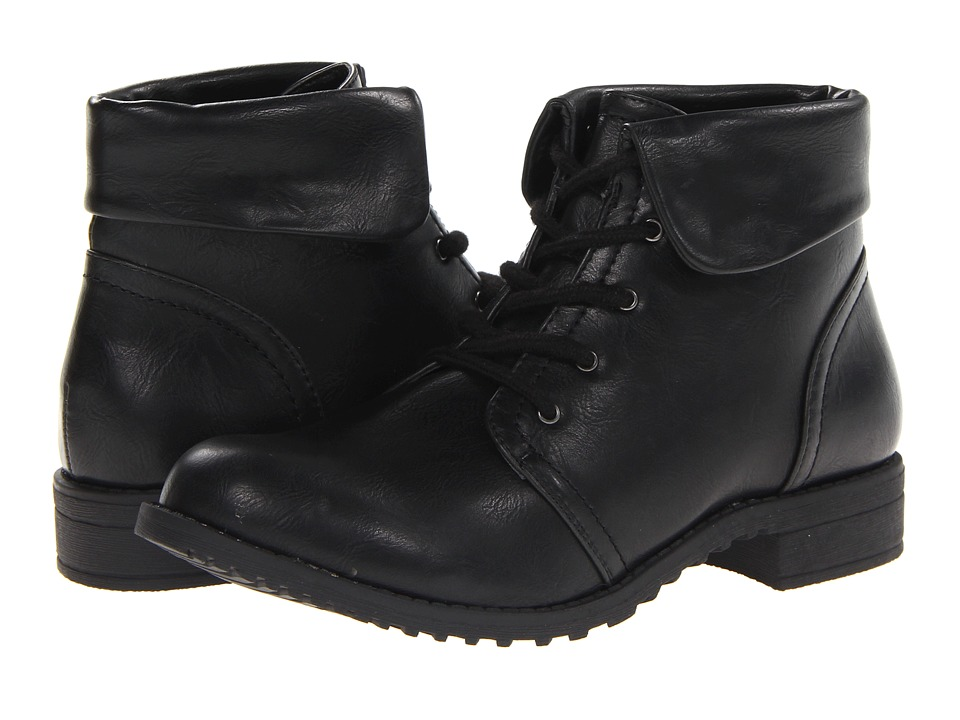 Cliffs by White Mountain - Tango (Black Smooth) Women's Lace-up Boots
