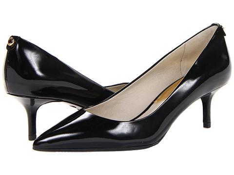 b2c4dc32cd20 887856083940. MICHAEL Michael Kors MK-Flex Kitten Pump (Black Patent) High  Heels
