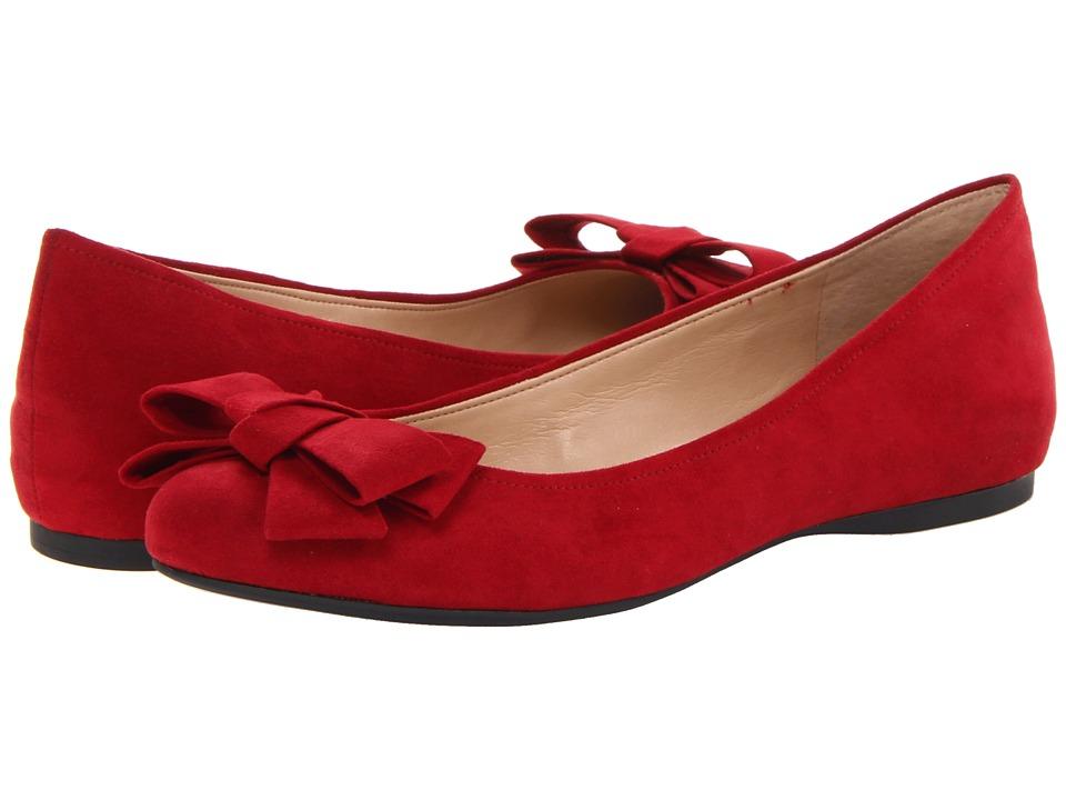 Jessica Simpson - Mugara (Bullseye Red MS) Women's Flat Shoes