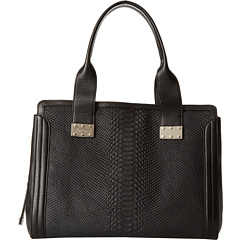 SALE! $254.99 - Save $170 on Foley Corinna Embossed Plated Satchel (Raven) Bags and Luggage - 40.00% OFF $425.00