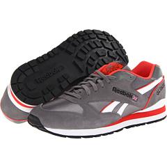 Reebok Lifestyle GL 2620 (Shark/Bright Cadmium/White/Black) Men's Shoes