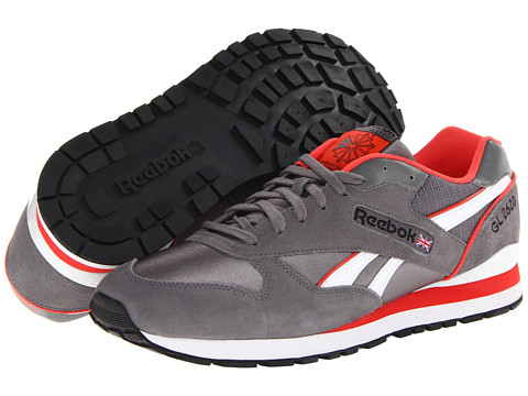 Reebok - GL 2620 (Shark/Bright Cadmium/White/Black) Men's Shoes