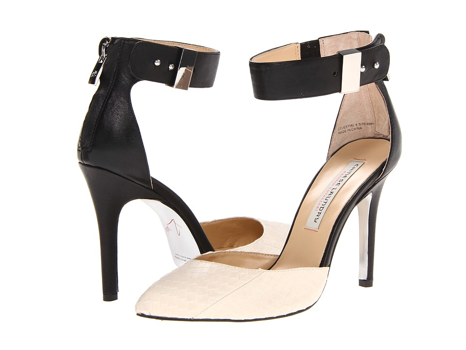 Kristin Cavallari - Celestial (Cream/Black) High Heels
