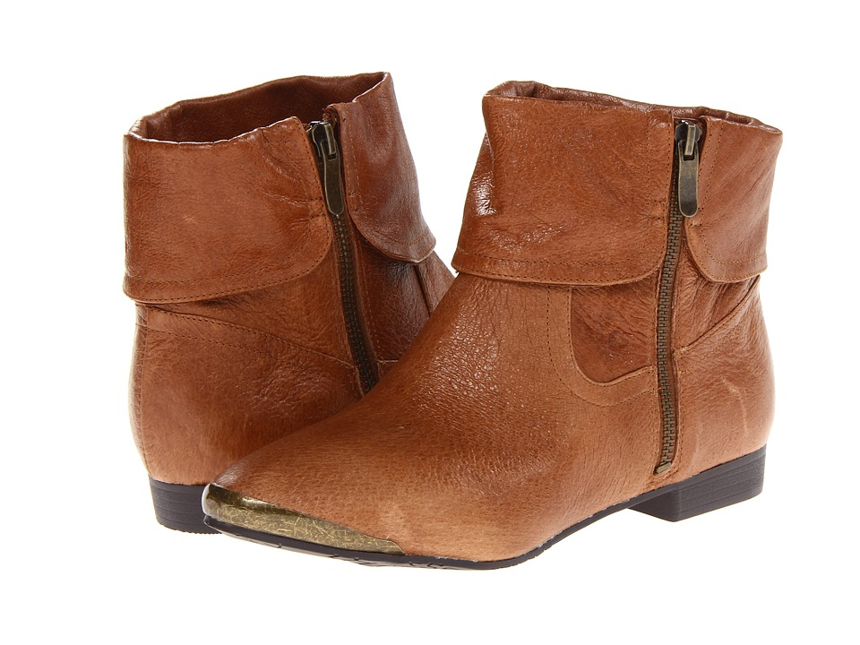 Chinese Laundry - South Coast (New Cognac) Women's Zip Boots