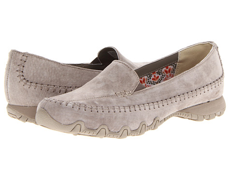 SKECHERS - Relaxed Fit - Bikers - Pedestrian (Taupe) Women