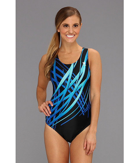 TYR - Samurai Maxfit (Blue) Women's Swimsuits One Piece