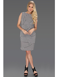 SALE! $29.5 - Save $88 on Tahari by ASL Kevin Dress (Black White) Apparel - 75.00% OFF $118.00