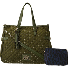 SALE! $149.99 - Save $78 on Juicy Couture Lauryn Zip Top Tote Studded Nylon (Dill) Bags and Luggage - 34.21% OFF $228.00