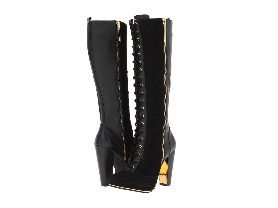 Vogue Dancing Queen Womens Dress Boots (Black)
