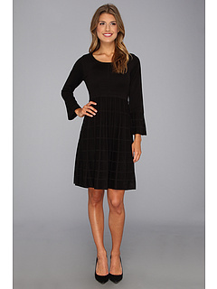 SALE! $64.99 - Save $63 on Calvin Klein Knit Dress CD3W1A96 (Black) Apparel - 49.23% OFF $128.00