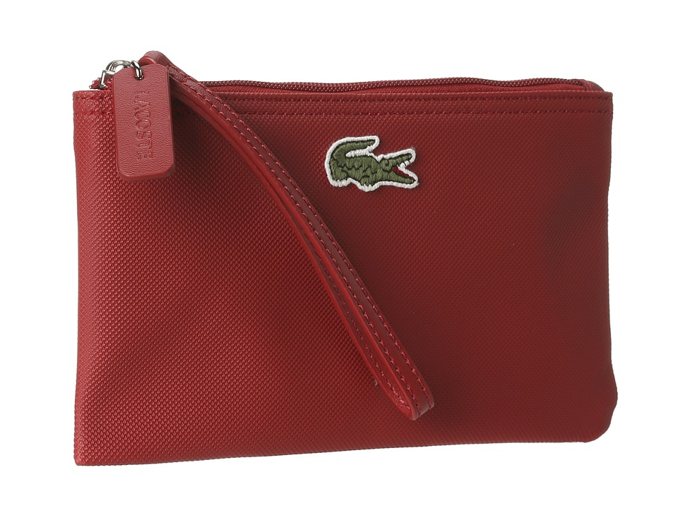 Lacoste - L1212 Wristlet (Paprika Red) Clutch Handbags