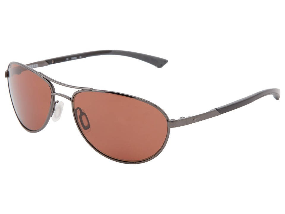 Costa - KC 580 Plastic (Gunmetal/Copper 580 Plastic Lens) Sport Sunglasses